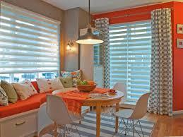 Orange Living Rooms Cozy Dining And Living Rooms Jil Sonia Mcdonald Hgtv