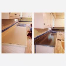 rustoleum countertop coating on zinc countertops