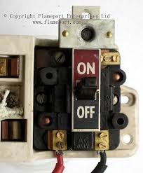 gec metal way fusebox main switch from old gec fuse box