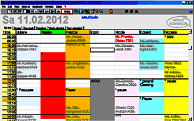 office scheduler agenda software calendar for appointments staff