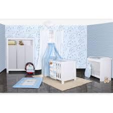 Babyzimmer Felix in weis/grau 21 tlg. mit 3 türigem Kl + Sleeping ...