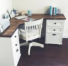 grace farmhouse corner desk by magnoliasandhardware on corner desk designs