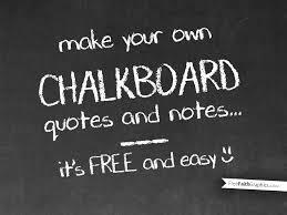 diy chalkboard pp