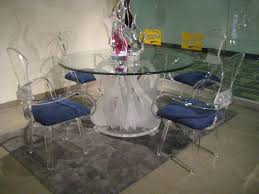 acrylic kitchen table top wonderfully acrylic clear legend swan round dining table with glass top
