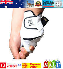 Details About Cabretta Leather Double S Golf Glove R H Glove For L H Golfer Men Woman