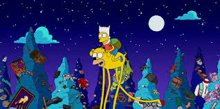 watch the adventure time couch for the simpsons