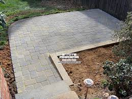 paver and brick patios rocha