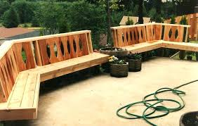 patio bench ideas backyard and lighting projects amazing diy outdoor plans wooden