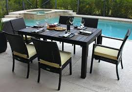 full size of brigantine 7 piece outdoor dining set with cast top table patio rattan garden