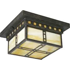 the progress lighting weathered bronze direct for the progress lighting weathered bronze arts crafts two light flush mount ceiling fixture with