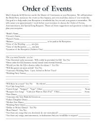 wedding itinerary templates free wedding template projects to Wedding Itinerary Samples wedding itinerary templates free wedding template wedding itinerary sample free