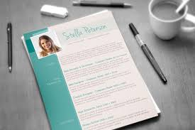 Fancy Resume Templates Enchanting A Fancy CV Template Tangy Peppermint