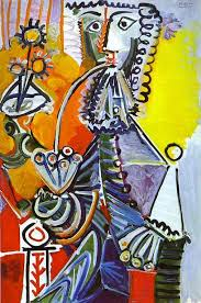 famous painting cavalier with pipe of pablo picasso