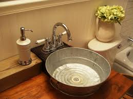 galvanized bathroom sink 25 best ideas about bucket sink on barn sink country