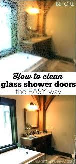 how to clean a shower door dryer sheets cleaning shower doors use dryer sheets to clean how to clean a shower door