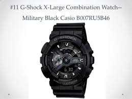 top 10 casio watches reviews best g shock black watches for men 2014