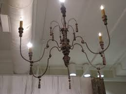 wood and metal chandelier. Lighting Marvelous Wood And Metal Chandelier 14 Elegant French At 1stdibs Of Y