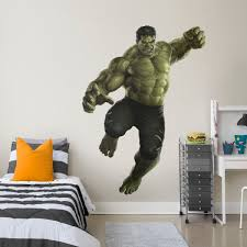 the hulk avengers infinity war life size officially licensed marvel removable wall