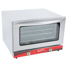 great for making small batches of baked goods snack foods pizzas and warm sandwiches this half size convection oven is a great way to increase cooking