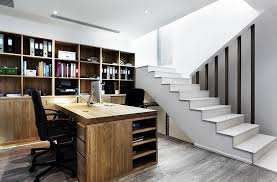 basement office design. Homesthetics-Fabulous-home-office-in-the-basement Basement Office Design A