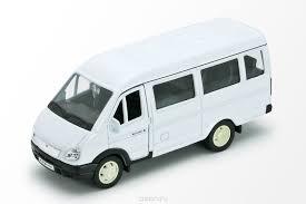 <b>Welly Модель</b> автомобиля ГАЗель пассажирская — купить в ...