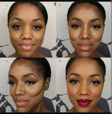 here s an incredible contour and highlight tutorial for darker skin tones by using our new motives