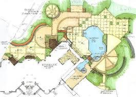 landscape architecture blueprints. Plot Plan Landscape Architecture Blueprints Landscaping Network