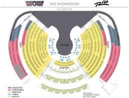 Rio Las Vegas Seating Chart Wow World Of Wonder Oriental Tours