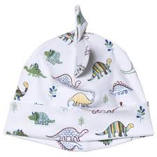 Kissy Kissy White Dinosaur Roar Print Baby Hat Babyshop Com