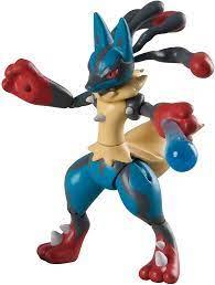 Amazon.de:Pokemon Mega Lucario Figur