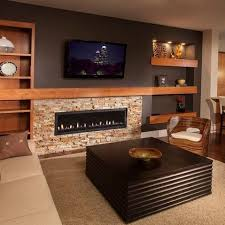 Small Picture 25 best Stone TV Wall images on Pinterest Basement ideas