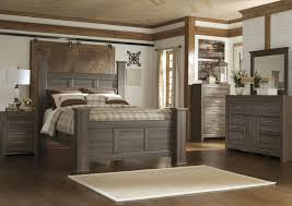 ashley furniture bedroom dressers awesome bed: juararo queen poster bed dresser amp mirror
