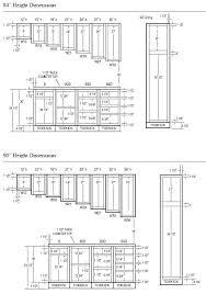 Standard Height Of Kitchen Cupboard Door