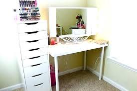 black bedroom vanities. Bedroom Vanities With Drawers White Makeup Personal Vanity Setup Table Black