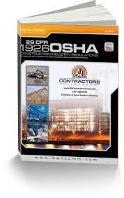 osha 1926 construction industry regulations book