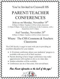 parent teacher conference letters elementary parent teacher conference form interview template letters