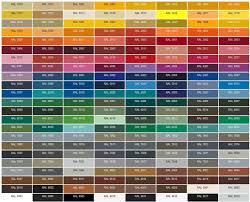 Ral Chart We Open Your Home With The Ral Color Range