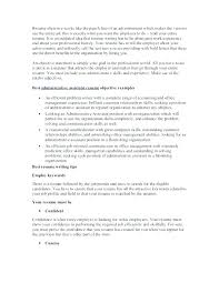 Personal Objectives Examples For Resumes Resume Goal Examples Career Objectives Examples For Resumes Examples