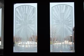 invaluable glass door entrance handmade church door entrance by micah glass custommade com