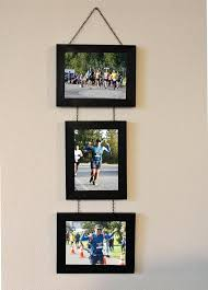 collage picture frame frames wall hanging with photo india pottery barn hanging frames simple wooden photo wall