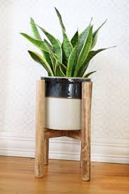 These DIY plant stand ideas can not only increase your indoor planting  space but also enhance the beauty of your home