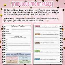 Food Diary Weight Loss Journal Sw Compatible Speed Easy12