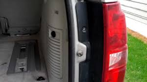 How to remove replace tail light bulb in Chevy Tahoe 2007 2008 ...