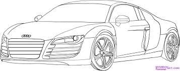Coloriage Imprimer Vehicules Voiture Audi L L L L L L L L L L L