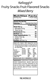 view full nutrition facts panel label