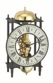 hermle mechanical skeleton mantle clock