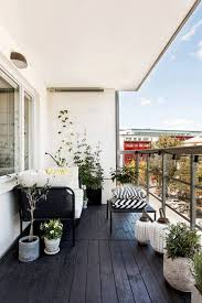 modern balcony furniture. Modern Balcony With Wood Floor Ideas Furniture 1