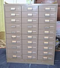 File Cabinet Paint Ombre Painted File Cabinet