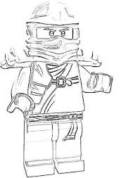 Jay Lego Ninjago Colouring Pages Free Printable Coloring Pages For