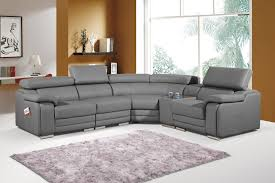grey leather recliner. Chair Classy Grey Corner Leather Sofa Eo Furniture Gray Inside Reclining Recliner